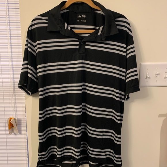 adidas Other - Adidas Striped Polo
